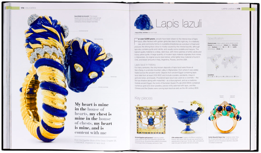 Example spread from Jewel.